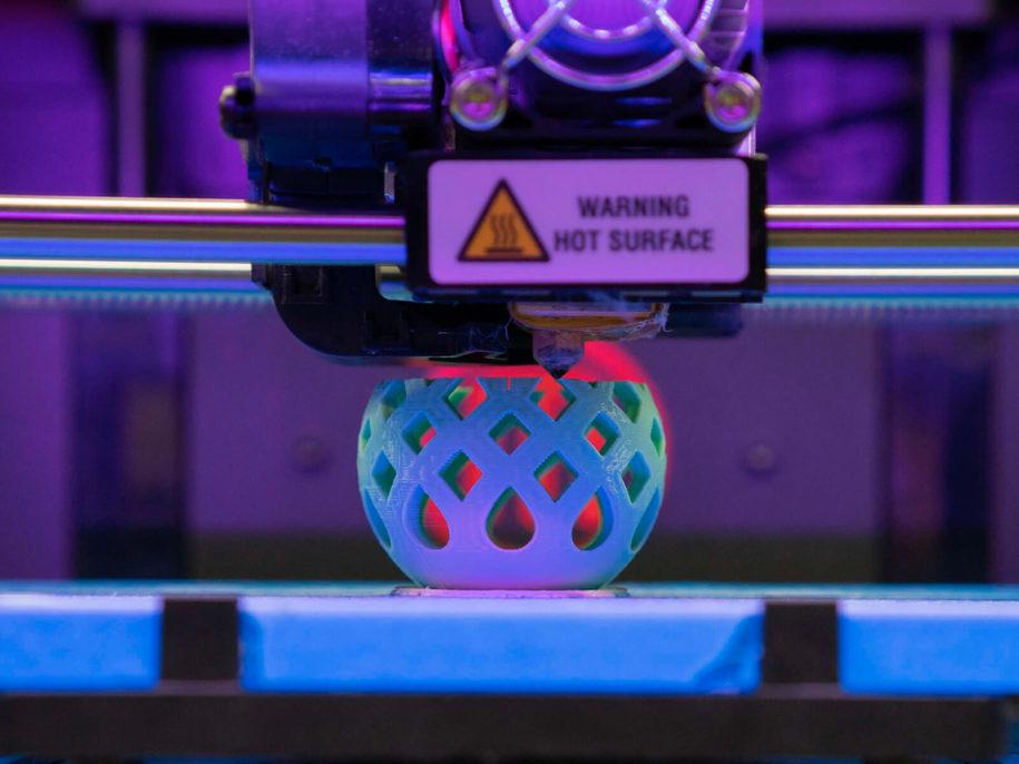 3d3 teknoloji - 3d baskı aşamasında olan bir 3d printer