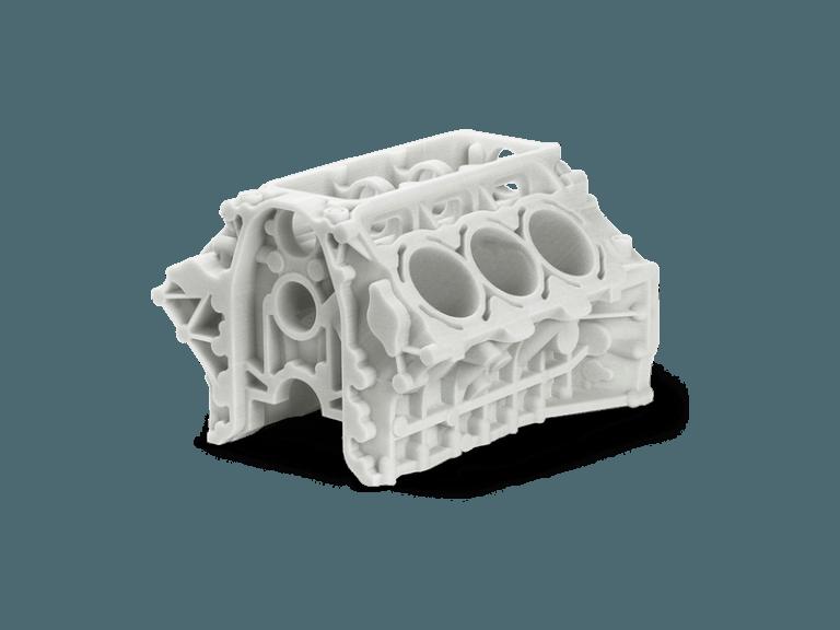 3d printer ile 3d baskı alımı ve 3d modellemesi yapılmış motor