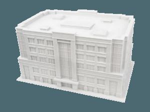 3d printer ile 3d baskı alımı ve 3d modellemesi yapılmış mühendislik prototipi 3