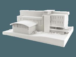 3d printer ile 3d baskı alımı ve 3d modellemesi yapılmış mühendislik prototipi 1