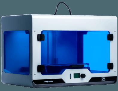 3d3 teknoloji'nin yerli üretim 3d yazıcı çözümü olan megamaker 3d printer 4
