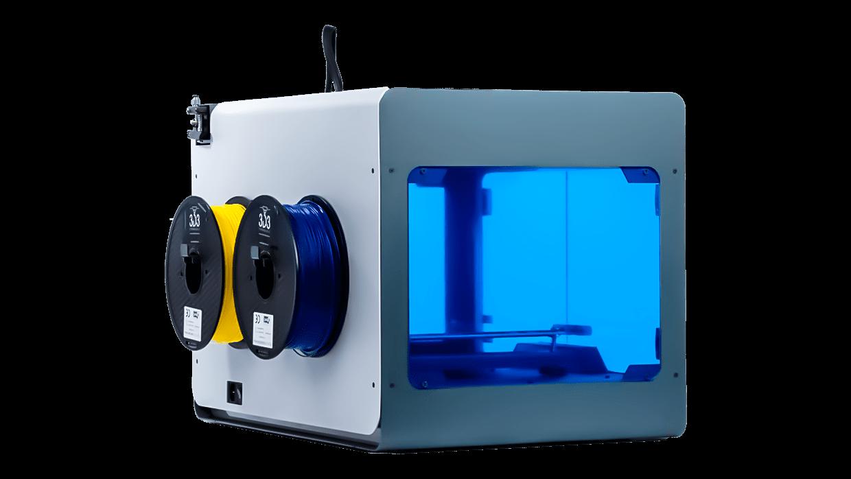 3d3 teknoloji'nin yerli üretim 3d yazıcı çözümü olan megamaker 3d printer 6