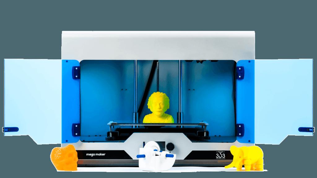 3D3 Teknoloji'nin yerli üretimi olan megamaker üç boyutlu yazıcı fiyatları konu olduğunda öne çıkıyor