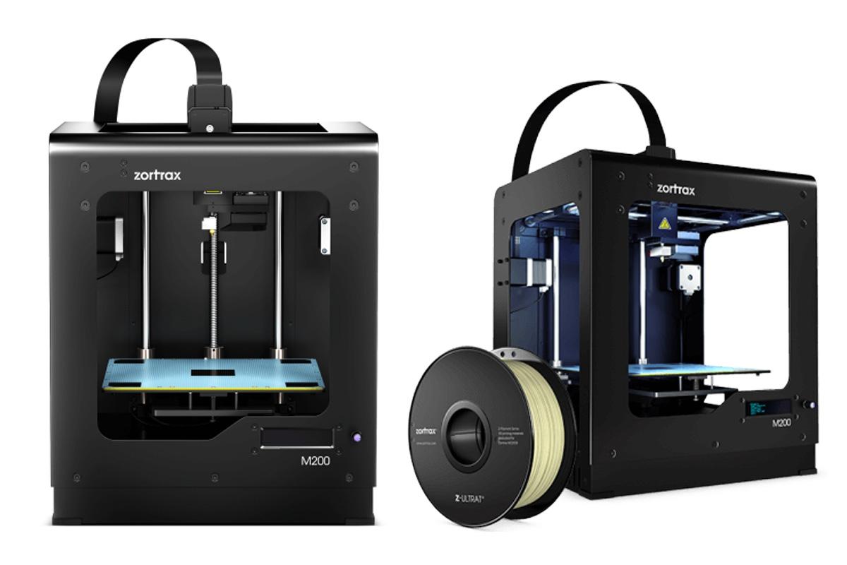 3d baskı almak için kullanılan zortrax marka üç boyutlu yazıcı