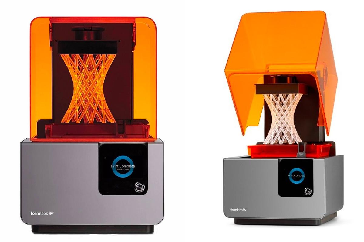 sls teknolojisi ile 3d baskı almak için kullanılan formlabs form 2 3d yazıcı